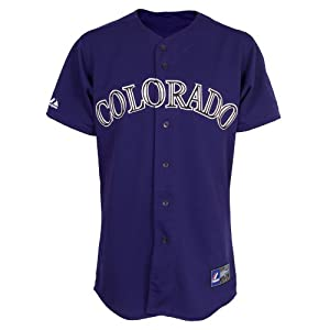 Mlb Youth Colorado Rockies Purple Alternate