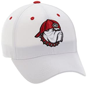 Amazon Com Georgia Bulldogs Adult One Fit Hat Baseball