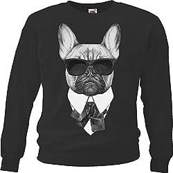 """Sweatshirt Sweater """"DOG - DOG - PUPPY - DOG PUPPY - ATTACK DOG - TERRIER - REX"""