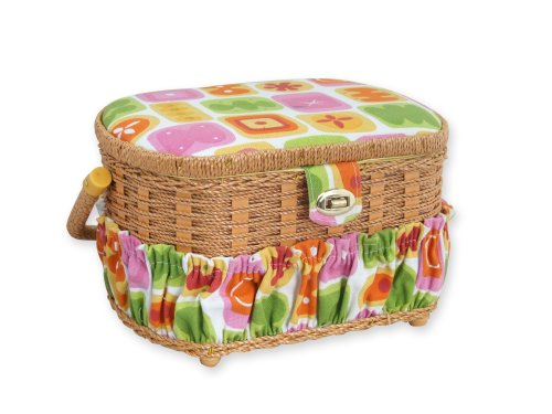 New Michley Sewing Kit with Sewing Basket, 41-Piece