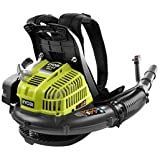 RYOBI RY08420 42cc Gas Powered 2-Cycle Backpack Grass/Yard Leaf Blower 185 mph
