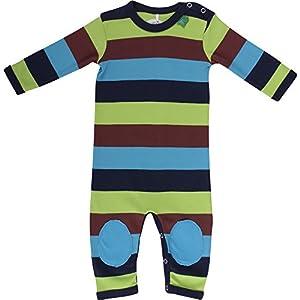 Fred'S World By Green Cotton Block Stripe Bodysuit - Pelele para niños