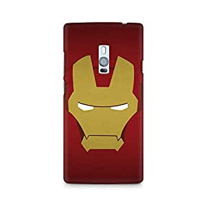 Mobicture Iron Man Minimalist Premium Printed Case For OnePlus Two