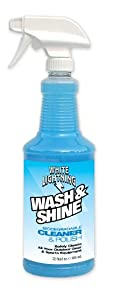 White Lightning Wash & Shine Biodegradable Bike Wash & Cleaner 32-ounce Spray Bottle