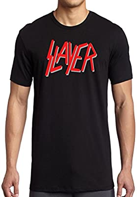Slayer Logo - Thrash Metal T-Shirt