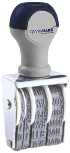 Traditional Rubber Date Stamp, Type Size 2, Black (Rd020)