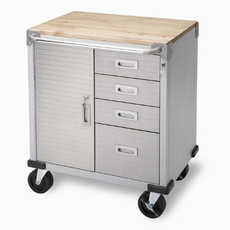 Where To Buy Stainless Steel Rolling Garage Storage Cabinet The Cheap
