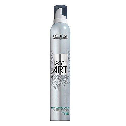 L' oréal tecni. art Volume Full Volume Extra Schiuma Volume Fissaggio Extra Forte 400ml