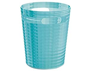 Gedy by nameeks glady waste bin turquoise gl09 for Turquoise bathroom bin