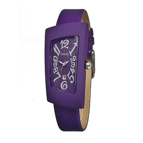crayo-cracr0406-orologio-da-polso-cinturino-in-pelle-colore-porpora