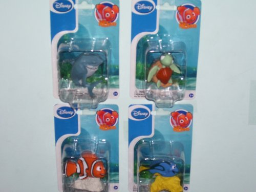 Disney Finding Nemo Figurines (Sold As 4 Packs As a Set.)