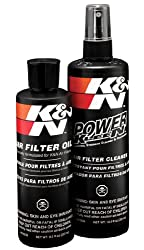 K&N 99-5050 Recharger Bike Air Filter Care Service Kit - Squeeze
