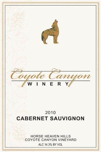 2010 Coyote Canyon Winery Horse Heaven Hills Cabernet Sauvignon 750 Ml