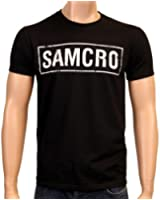 Coole-Fun-T-Shirts T-Shirt FT Patch Sons Of Anarchy Redwood Original Samcro - T-shirt - Homme