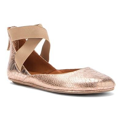 Amazon.com Gentle Souls Womenu0026#39;s Bay Unique Flat Shoes