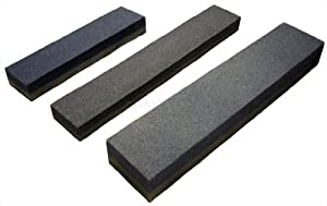 1 pc Combination Sharpening Stone Knife Sharpener 8x2x1 by New Star Foodservice