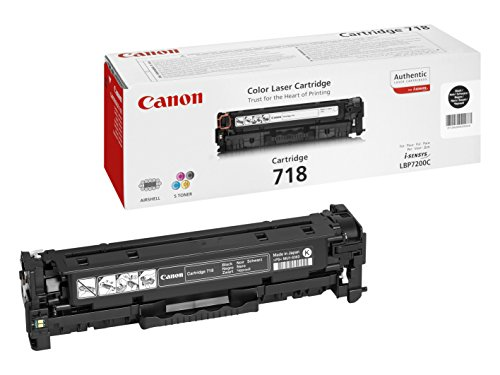 Canon Original Black Laser Toner Cartridge 718 226903 Black Friday & Cyber Monday 2014