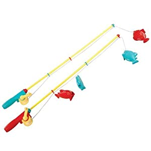 Battat toy fishing set in pouch playsets amazon canada for Fishing toy set