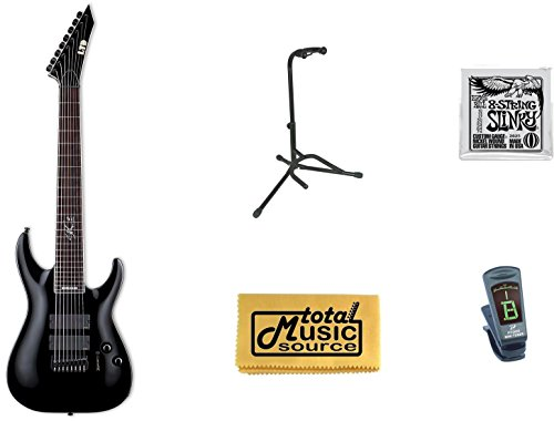 Esp Ltd Sc-608B Stephen Carpenter Baritone Guitar With Free Accessories