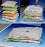 Medium Travel Vacuum Storage Bags for...