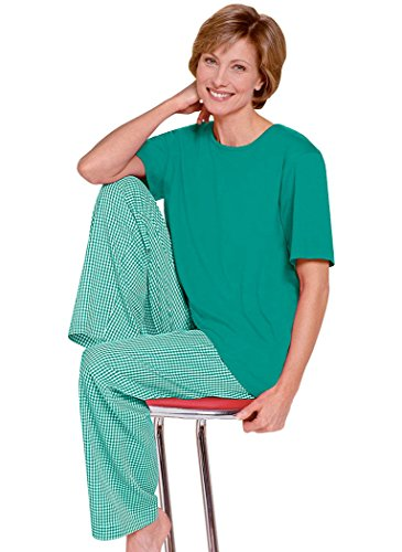 Green Cotton Pajamas back-992783
