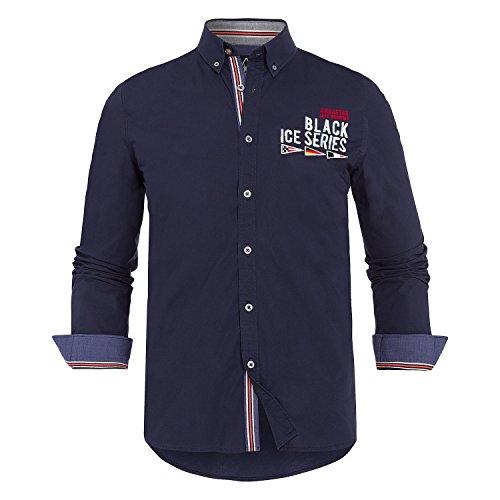 Gaastra -  Camicia Casual  - Uomo blu XX-Large
