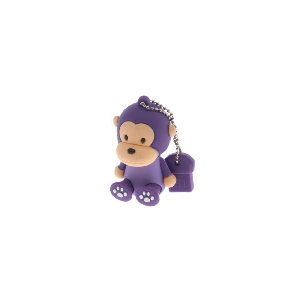 Trust&buy Cute Cartoon Monkey USB Flash Drive Practical Gift   32GB