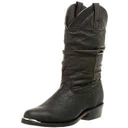 Dingo Men\'s Slouch Boot,Black,8.5 M