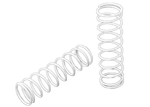 Traxxas 3758X Front Springs, White, 2-Piece - 1