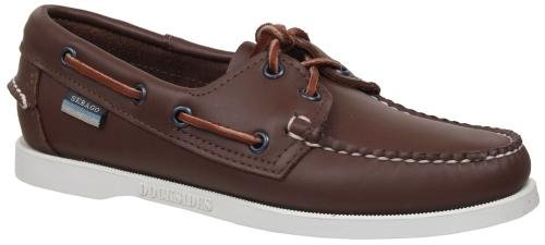 Sebago Women's Docksides Boat Shoe,Brown Elk,7 W US