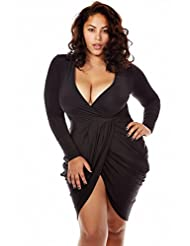 Pretty plus size club dresses