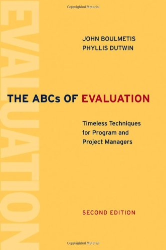 The ABCs of Evaluation: Timeless Techniques for Program...