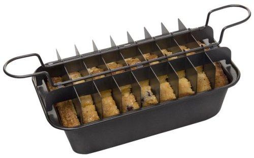 Slice Solutions 9-Inch Divided Loaf Pan Set