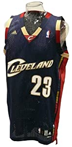 Lebron James Jersey - Cleveland Cavaliers Swingman Jerseys (Navy) by adidas