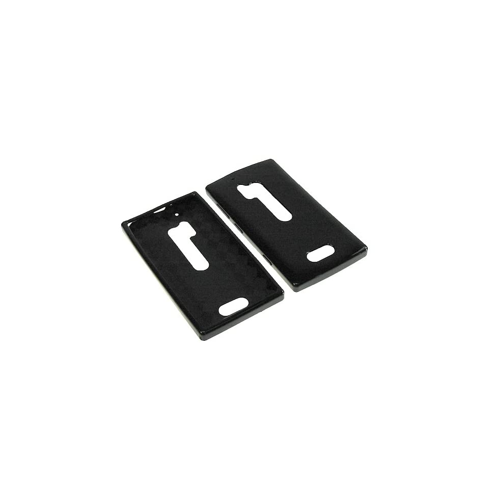 HR TPU Sleeve Gel Cover Skin Case for Verizon Nokia Lumia 928  Black