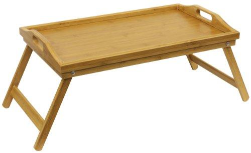 Home Basics Bed Tray, Bamboo