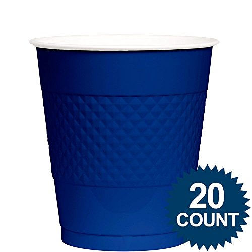 Royal Blue Plastic Cups