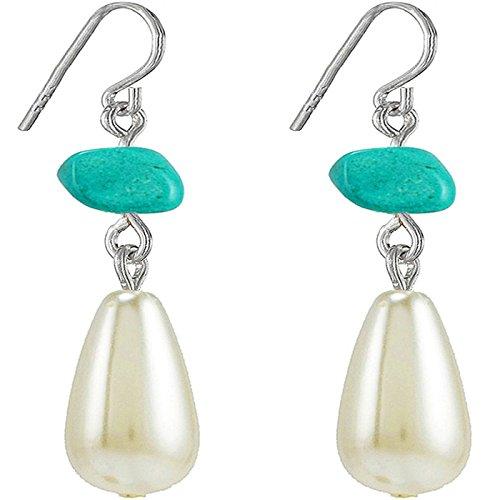 natural-stone-orecchini-pendenti-con-perla-finta-jewelry-orecchini-11-mm-colore-turchese-placcato-ar