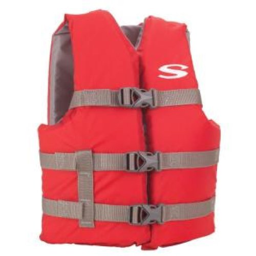 Stearns Child's and Youth Boating Vests (Red,