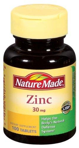 Nature Made 锌 Zinc 30 mg Tabs, 100 ct一站式海淘,海淘花专业海外代购网站--进口 海淘 正品 转运 价格