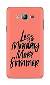 AMEZ less monday more summer Back Cover For Samsung Galaxy ON7