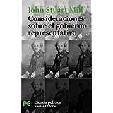 Consideraciones sobre el gobierno representativo: 1 (El Libro De Bolsillo)