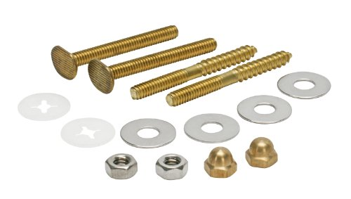 Fluidmaster 7114 Bowl to Floor Bolts and Screws