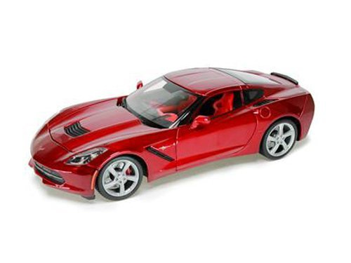 2014 Chevrolet Corvette C7 Stingray Metallic Red 1/18 by Maisto 31182 from Maisto
