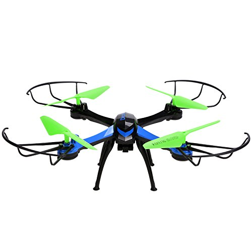 JJRC H98 2.4Ghz 4CH 6-Axis Gyro RC Quadcopter with 0.3MP Camera 3D...
