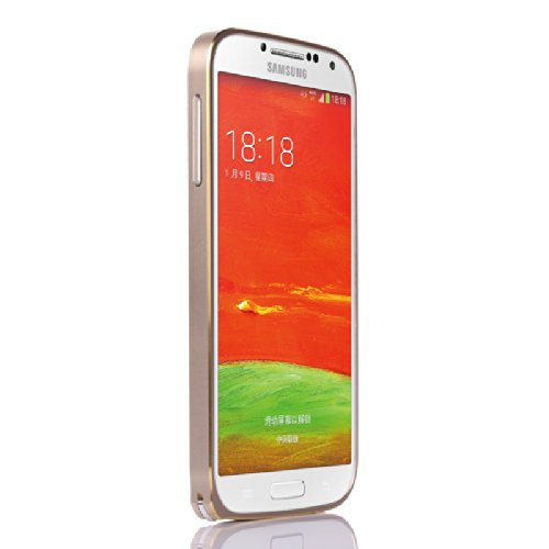 Lordtech(Tm) Ultra Thin 2 Colors Aluminum Metal Case For Samsung Galaxy S4 I9500 (Gold)