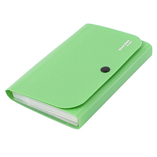 uxcell Office File Document Receipt Bill Folder Holder Organizer Green (Receipt Organizers compare prices)
