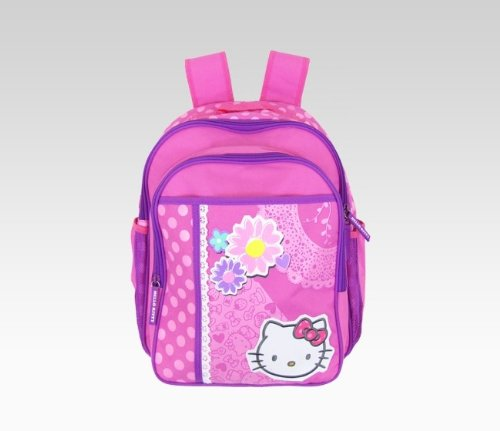 Hello Kitty Large Collage Pink Childs Backpack