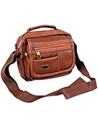 Stylish Faux Leather Small Messenger Office Cash Sling Bag By -Widnes
