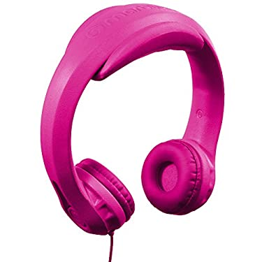 HeadFoams Headphones for Kids, Pink